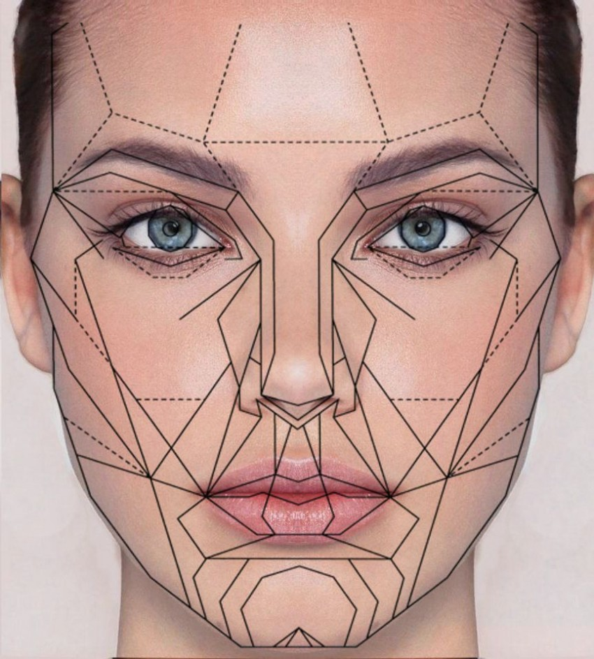 golden ratio face
